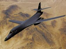 MILITARY AIR PLANE FIGHTER BOMBER B-1B FORCE DESERT POSTER ART PRINT BB965A
