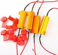 4 PCS Load Resistor 6ohm Fix LED Bulb Fast Hyper Flash Turn Signal Blink
