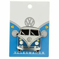 Collectable Volkswagen VW T1 Camper Bus Blue Enamel Pin Badge Transporter Kombi