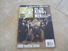 BB King Of The Blues Signed Autographed Living Blues Magazine PSA Guaranteed
