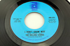 Rolling Stones: I Don't Know Why / Try a Little Harder  [Unplayed Copy]
