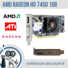 AMD ATI Radeon HD7450 1gb Scheda Video DVI DisplayPort Graphic Card 697247-001