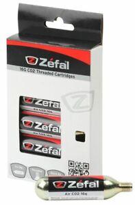 Zefal CO2 Threaded Cartridge / Lightweight / Capacity - 16 g / 6 Pack