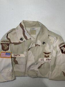 army coat combat uniform 101st airborne screaming eagles large