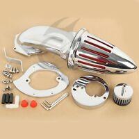 Chrome Air Cleaner Kits intake filter for Honda VTX1300 VTX 1300 1986-2012 11 10