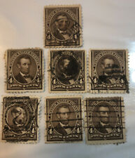 Scott 254 Early US Stamp 4c Lincoln...1894  X7