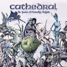 """CATHEDRAL """"THE GARDEN OF UNEARTHLY DELIGHTS"""" BLACK VINYL DOUBLE LP + POSTER RE"""