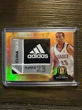 2012-13 Panini Gold Standard Kevin Mart Bullion Brand Adidas Game Worn Patch 2/2