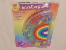 Kids Jewellery Set – Girls DIY Necklace & Bracelet Box – New