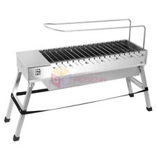 Foldable USB Electric Charcoal Grill/Automatic Flip Barbecue Stove for Outdoor