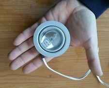Lote 24 Luz Aplique halogen empotrable Metal Aluminio 12V 20W 0,5m 7cm