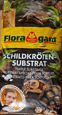 Floragard SchildkrötenSubstrat 50 Ltr. Erde Bodengrund Einstreu Terrarien