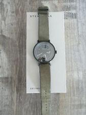 Sternglas Hamburg Topograph Armbanduhr schwarz Automatik 42mm - FULLSET wie NEU!