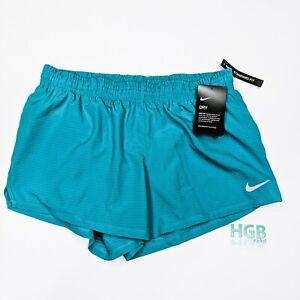 Nike Dry Shorts Women's Running Training Sport Gym Yoga Aqua AQ5678-366
