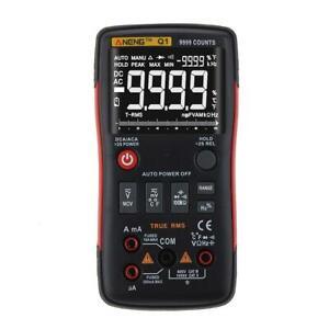 True-RMS Digital Multimeter 9999 Counts AC/DC Voltage Current Ohm Ammeter  AU