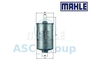 Genuine MAHLE Replacement Engine In-Line Fuel Filter KL 29