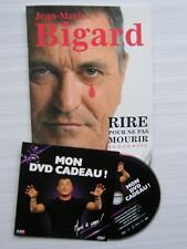 LIVRE ET DVD NEUF JEAN-MARIE BIGARD (RIRE POUR NE PAS MOURIR SOUVENIRS)