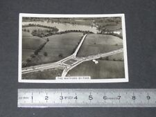 1939 BRITAIN FROM THE AIR SENIOR SERVICE CIGARETTE CARD #5 THE WATFORD BY-PASS