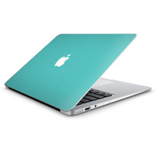"""Skin Decal Wrap for Macbook Air 13 Inch 13"""" - Turquoise color"""