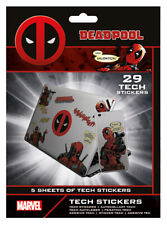 MARVEL DEADPOOL MERC WITH  MOUTH TECH STICKERS PACK (29) NEW 100% OFFICIAL MERCH
