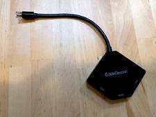 Mini Displayport DP Thunderbolt to VGA Adapter DVI HDMI for Apple Mac Air Pro