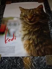 Director Ceyda Torun signed Kedi movie poster 27 x 40 Cats of Istanbul