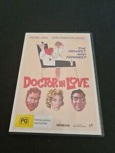 DOCTOR IN LOVE Dvd  Michael Craig Region 4 James Robertson Justice Classic