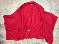 NWT K Dash QVC Kardashian Pink Open Front Wrap Kimono Sweater Plus Sz 2X