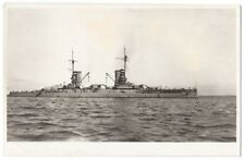 SMS KONIG ALBERT German Kaiser Class Battleship, RP Postcard by Druppel, Unused