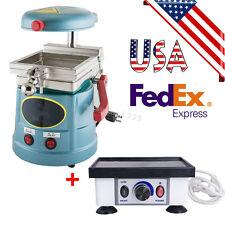 USA Dental Vacuum Former Forming Molding Lab Machine +Dental Vibrator Oscillator