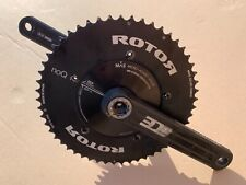 Rotor 3D Plus 30mm Road Bike Chainset 172.5mm 39 53 noQ Ref SR USED