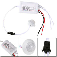 AC 220V Automatic Light Bulb IR LED Strip Body Infrared PIR Motion Sensor Switch