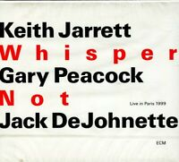Keith Jarrett Gary Peeacock Jack DeJohnette Whisper Not CD NEW