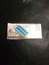 Sleek Stopper Door Stop Wedge - Works On All Floor Types - Blue New in box!