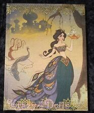 Disney Designer Art of Jasmine Doll Collection Journal New!