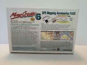 Lowrance GPS Mapping Accessories Pack Series 6 With MMC/SD Memory Card -