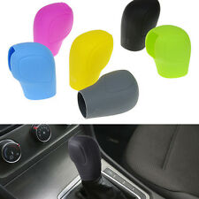1X Soft Silicone Car Auto Gear Stick Shift Boots Handbrake Cover Protector HOT