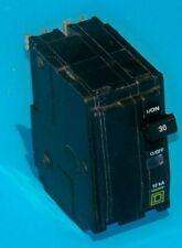 New Listingqo230 Square D 30 Amp 240 Volt 2 Pole Plug On Breaker