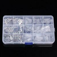 270 PCs Assorted insulated Electrical Wire Terminals Crimp Connectors Spade X2A8