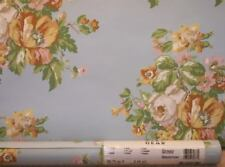 Light Colonial Blue Wallpaper with Multi-Color Flowers by Imperial  GE2052