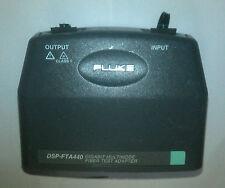 Fluke Dsp Fta440 Mm Fiber Gigabit Test Adapter For Fluke Dsp 4000 4300