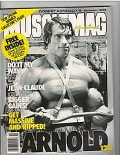 MuscleMag Bodybuilding Mag Mr Olympia Arnold Schwarzenegger 10-92  #124