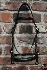 HERITAGE CUSTOM MADE BESPOKE BRIDLE SERVICE 100% ENGLISH SHOWING IN HAND & LEAD