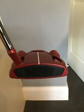 TaylorMade Spider Tour Putter (Red). Left Handed, 35 Inch. Mint Condition.