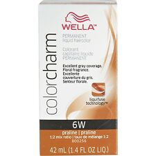 Wella Color Charm Liquid Haircolor 6W Praline, 2 oz