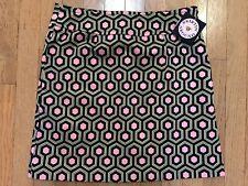 NWT SKIRTIN AROUND Women's Pink Geometric Skirt Size 6