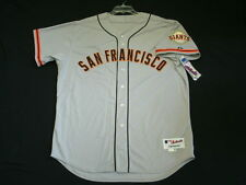 Authentic Majestic SIZE 48 XL, SAN FRANCISCO GIANTS ROAD, GRAY, ON FIELD Jersey