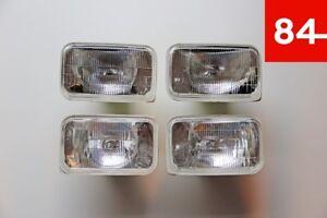 GMC JIMMY Suburban K1500 K2500 K3500 Sierra 4x Headlight Vandura Sealed Beam