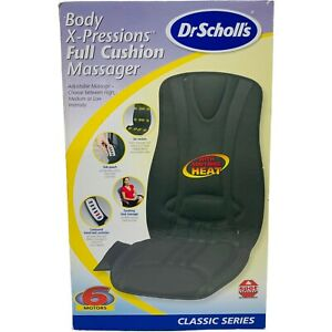 Dr. Scholl's Body X-Pressions Cushioned Massage Mat with Heat Full Body Classic