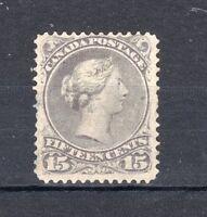 Canada 1868-71 15c dull violet-grey MVLH